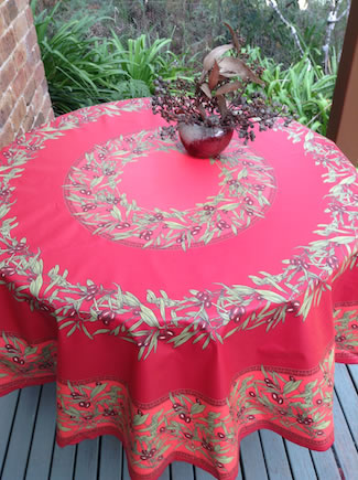 Delicieux French Round Tablecloths And Square Cloths. 70 Inch Round Oilcloth  Tablecloth Designs